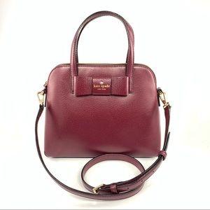 Kate Spade purple shoulder / hand bag